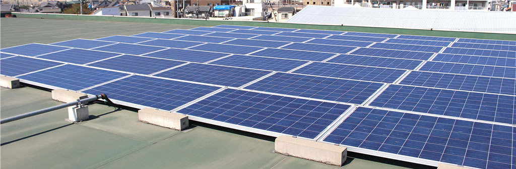 太陽光発電システムの写真